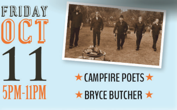 Entertainment - Campfire Poets, Bryce Butcher