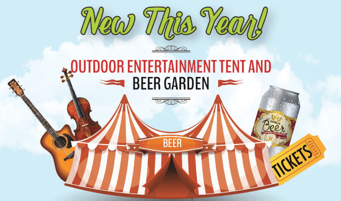 Festival Tent, Outdoor Entertainment, Beer Garden