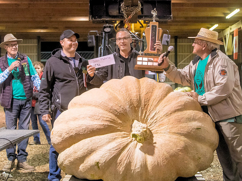 Great Pumpkin and Vegetable Weigh-Offs