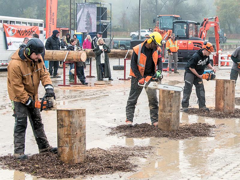 Erin Fair - Lumberjack Competition