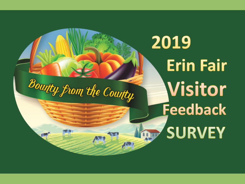 2019 Erin Fair Visitor Feedback Survey