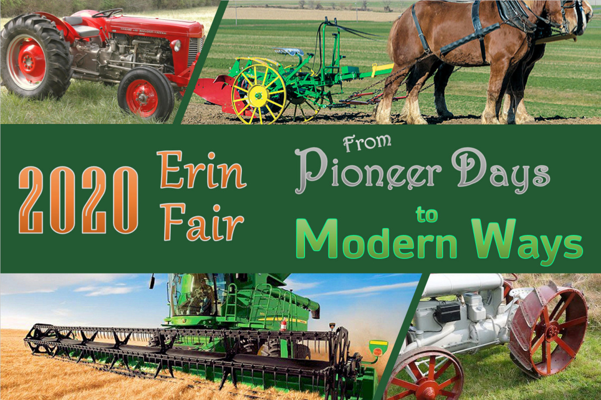 Erin Fair 2020 - From Pioneer Days to Modern Ways